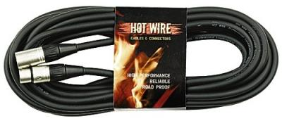 Kabel mikr. Hot Wire Basic èerný 5m XLR+XLR