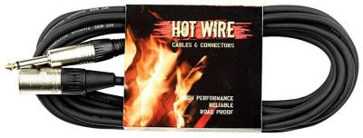 Kabel mikr. Hot Wire Basic èerný 10m XLR+J